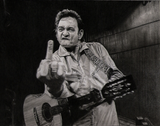 Johnny Cash por silenthero1